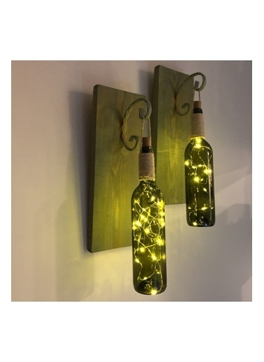 Mes Reves Design Mes Reves Design Led Işıklı Duvar Aplik Yeşil